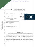 Order Denying Plaintiffs Mot for Preliminary a (1)