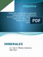 Semana 7 Minerales