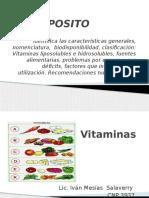 Semana 6 Vitaminas
