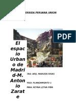 Madrid Un Modelo Suprametropolitano