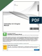 Caterpillar c4 4 Engine Manual