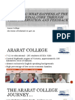 ararat college hplc conference