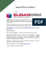 Instalación SugarCRM En