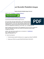Cara Membuat Bootable Flashdisk Dengan PowerIso