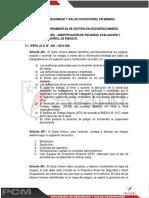 Tema 05 - Iperc - Identificacion de Peligros, Evaluacion y Control de Riesgos