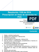 Presentacion Resolucion 1328 2016