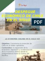 El despegue economico de chile en el siglo XIX