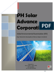 PSA- Solar Advance Corporation