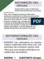 Farmacologia - Biotransformação (Med Vet).ppt