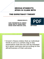 Expectancy Theory - UTM