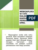 Mengaplikasi Cvo Dalam Kaedah Pemasaran Emel