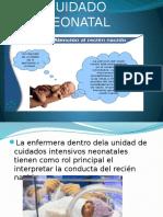 Cuidado Neonatal en Diapositiva