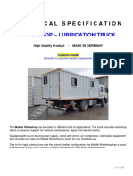 11350 Workshop Lubrication Truck Mercedes 2