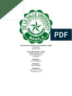 Cebu Pacific Strategic Management Paper