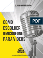 Ebook sobre Microfones
