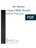 Manual Project Web Access Jefe Proyectos