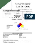 Msds Gas Natural