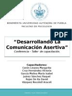Manual de Comunicación Asertiva