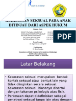 Revisi Kekerasan Seksual Anak Ppt