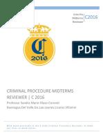 C2016 Crim Pro Midterms Reviewer