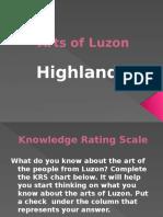 ARTS OF LUZON HIGHLANDS.pptx