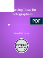Marketing Ideas for Photographers