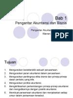 Ch 1 - Pengantar Akuntansi dan Bisnis