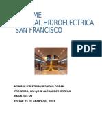 Hidroelectrica San Francisco Cristian
