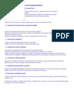 Contribución Del Área de Tecnologías a Las Competencias Básicas