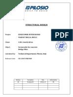 CR 13045 PIER R00 Calculation Report