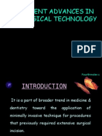 Recent Advances in Surgical Technology Perio