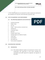 Method of Statement for in Situ Box Culvert