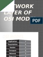 Network Layer of OSI Model