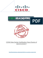 Cisco 640-916 Real Exam PDF Files