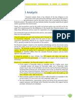 Finanacil Model Input for Highways