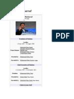 Pervez Musharraf's wikipedia