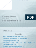 Funciones (parte II)