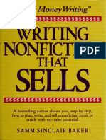 Writing Nonfiction That Sells