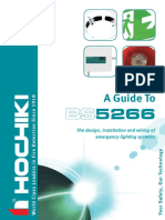 A Guide to BS 5266 - The Design, Installation & Wiring of Emergency Lighting Systems (by HOCHIKI)