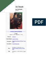 Muhammad Ali Jinnah's wikipedia