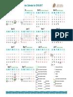 Academic Calendar 2016 2017 En