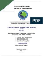 Objetivos 7 y 8 Informe Grupo 5