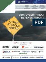 2016 Cyberthreat Defense Report