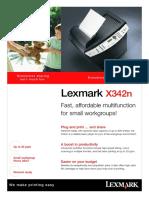 Lexmark X342N