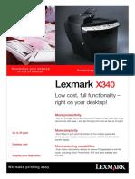 Lexmark Laser X-340