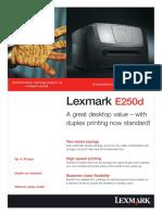 Lexmark E250Dpdf