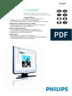 Monitor Philips 170 C6 FS