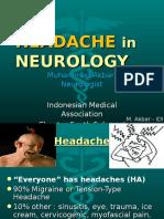 HEADACHE in Neurology