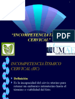 12Incompetencia Itsmico Cervical y Cerclaje