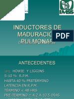 13Inductores de Madurez Pulmonar Fetal